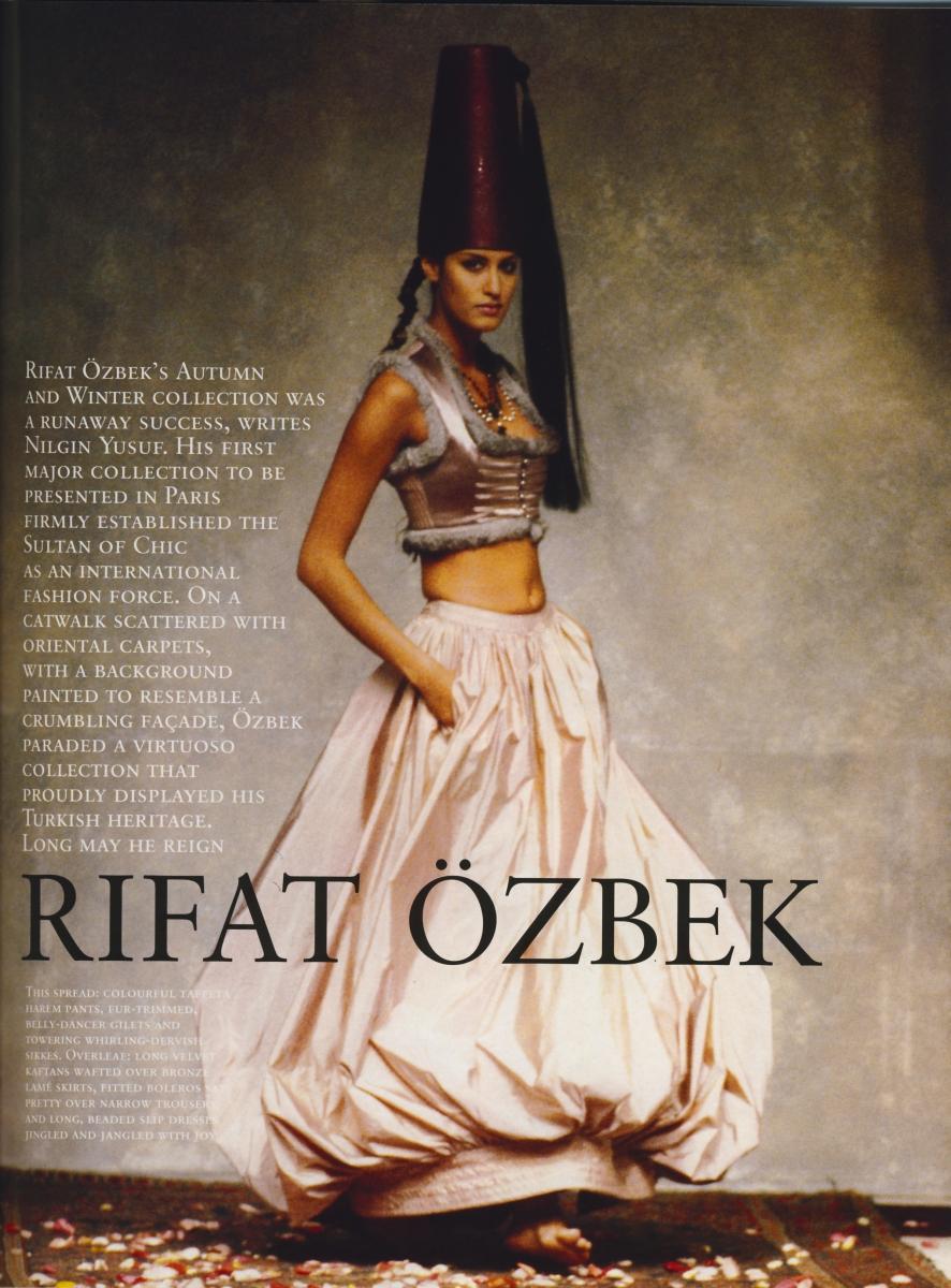 Cornucopia Magazine Rıfat Özbek
