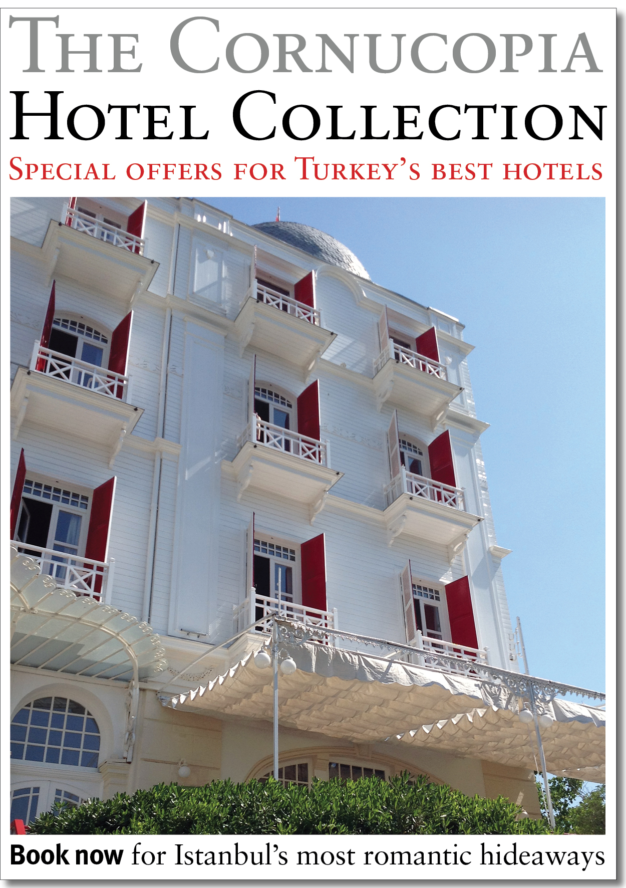 Book now for romantic hideaways in Turkey