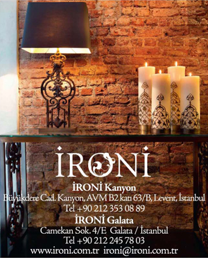 *Ironi*<br> Handmade iron furniture, lighting and accessories