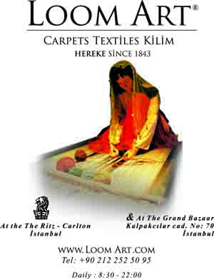 *Loom Art*<br> Carpets, textiles and kilims since 1843