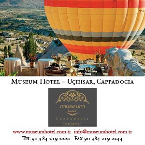 *Museum Hotel, Cappadocia*