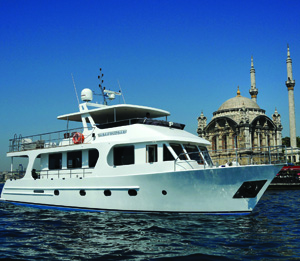*Sabah Rüzgarı*<br> Luxury Bosphorus cruises