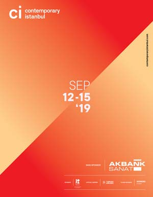 *Contemporary Istanbul 2019*<br><br> 12-15 September 2019