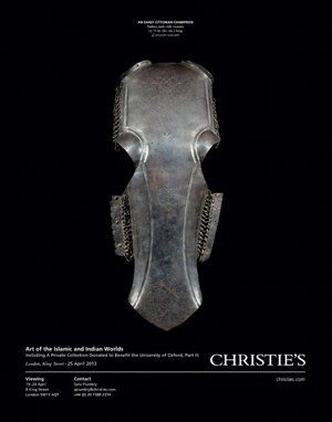 *Christie's London* <br> <br>Art of the Islamic & Indian Worlds<br>