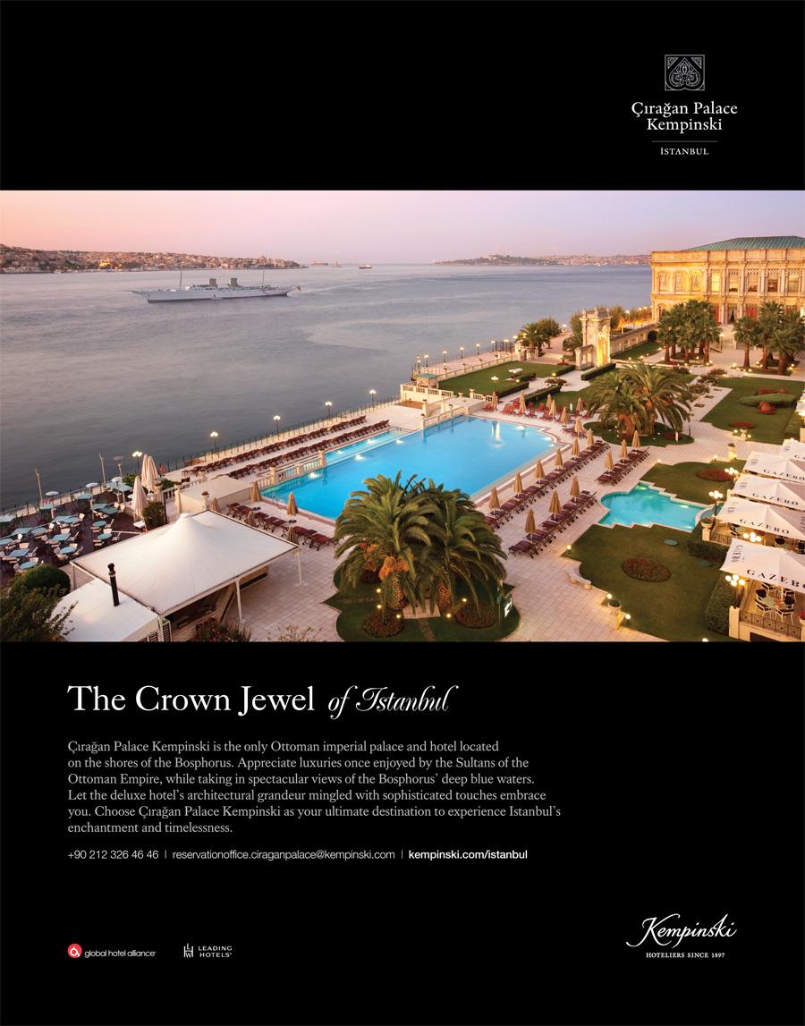 *Çırağan Palace Kempinski* <br> Istanbul's crowning jewel