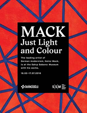 *Sakip Sabanci Museum*<br> *MACK. Just Light and Colour*<br>