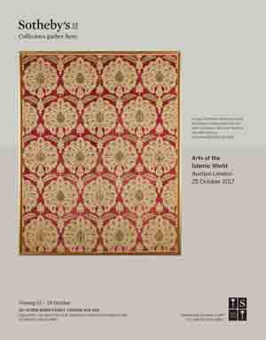 *Sotheby's London* <br> Superb auctions of Turkish, Islamic and Orientalist Art<br> 25 October, 2017