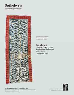 *Sotheby's Rugs & Carpets, London*<br> 7 November, 2017