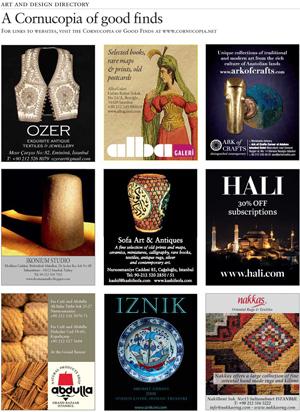 <b>CORNUCOPIA ART & DESIGN DIRECTORY</b><br><br> Print layout