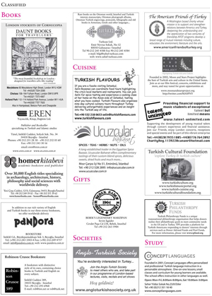 <b>CORNUCOPIA CLASSIFIED DIRECTORY</b><br><br> Print layout