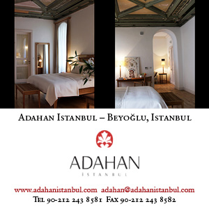*Adahan Hotel Istanbul*<br> A haven of taste and understated elegance in the heart of old Pera.