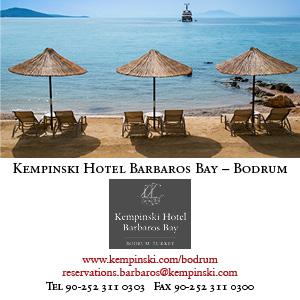 *Kempinski Barbaros Bay – Bodrum*