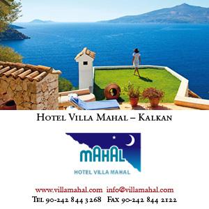 *Hotel Villa Mahal, Kalkan*