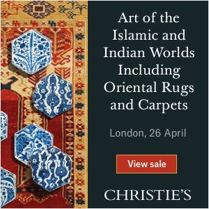 *Christie's Art of the Islamic & Indian Worlds, London* <br> <br>26 April 2018<br>