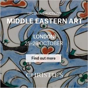 *Christie's Middle Eastern Art, London* <br> <br>25-26 October 2017<br>