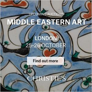 *Christie's Middle Eastern Art, London* <br> <br>25-26 October 2017<br>