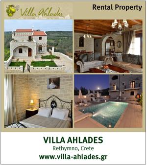 Charming villa in Crete