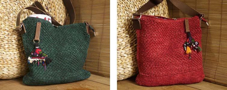 Cornucopia Magazine Hemp Crochet Shoulder Bag