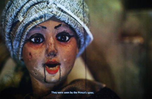 Wooden Puppet Makeup