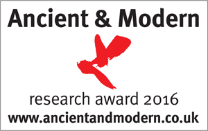 Ancient & Modern research Award