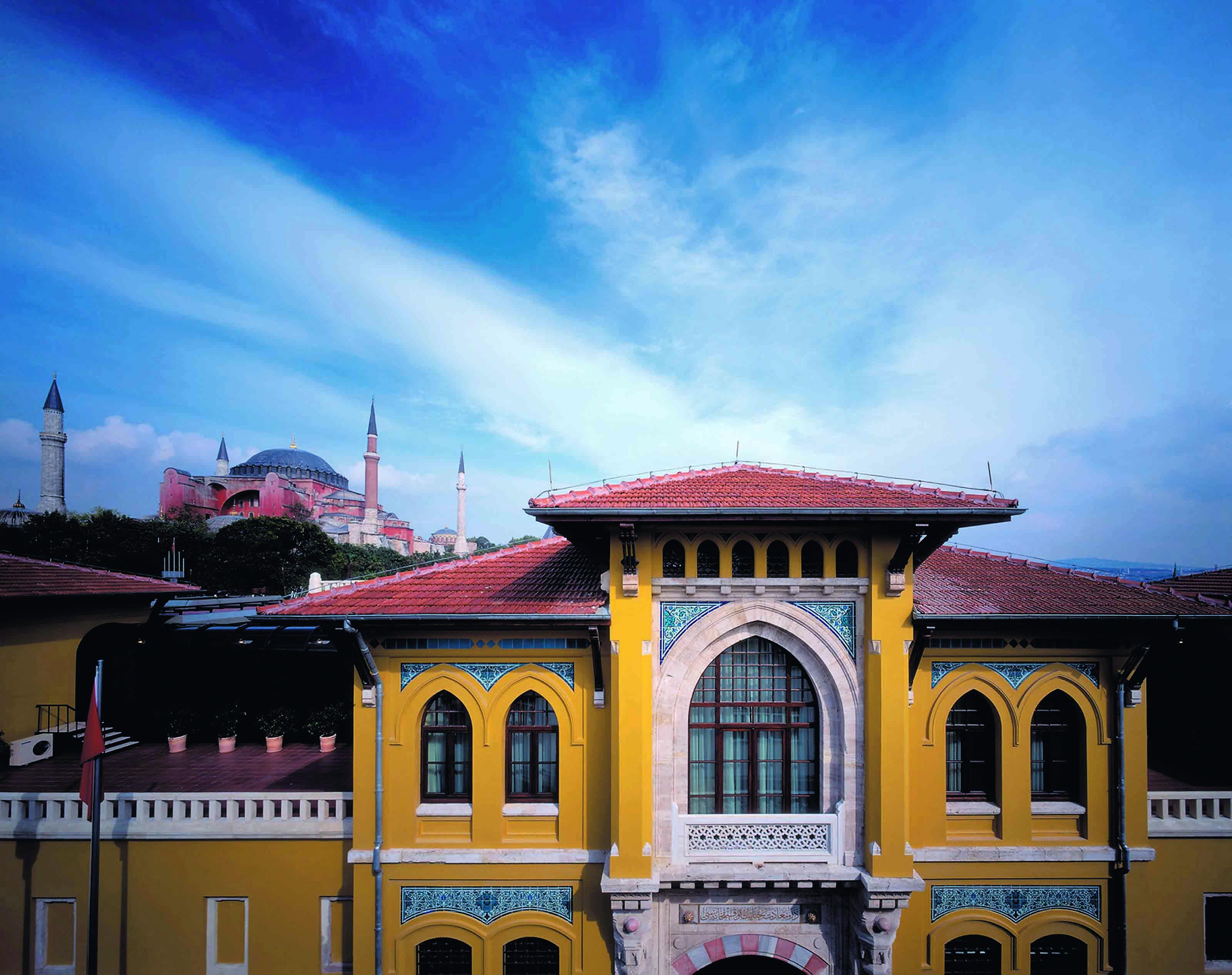 *Four Seasons Hotel Istanbul at Sultanahmet*