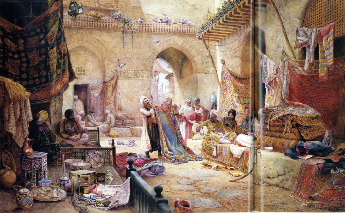 Famous Paintings Of Istanbul