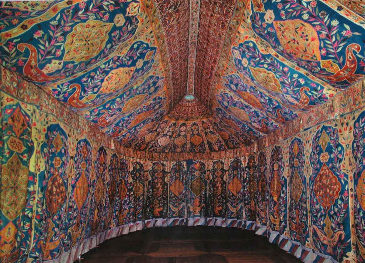 Cornucopia Magazine 17th Century Ottoman Tent Exhibit