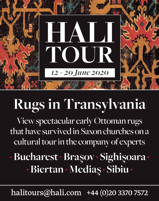 *HALI Tour: Rugs in Transylvania* <br>26 May – 6 June 2020