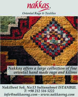 *Nakkaş Oriental Rugs & Carpets* <br> Offering a large collection of fine oriental hand-made rugs and kilims
