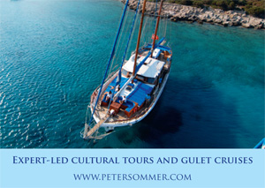 *Peter Sommer Travels* <br> Cruise in style upon the azure seas, explore some of the ancient wonders of the world