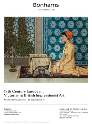 *Bonhams 19th Century European, Victorian & British Impressionist Art* <br> 26 September 2019