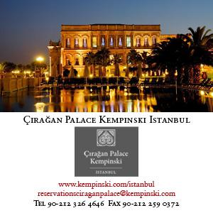 *Çırağan Palace Kempinski*<br> Palatial Ottoman style