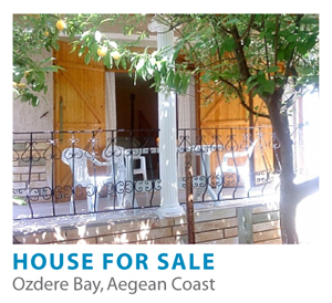 House for sale, Ozdere Bay, Aegean coast