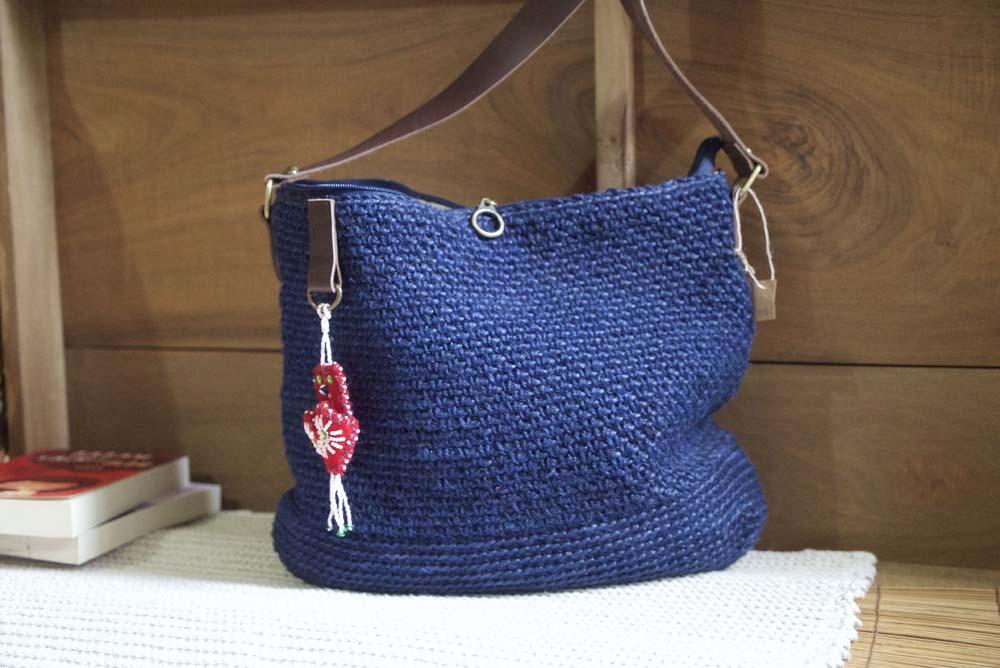 Cornucopia Magazine El Dokus Hemp Crochet Shoulder Bag